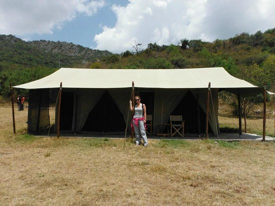 Enkewa Camp : our room in mara camp