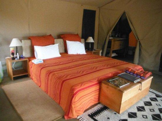 Enkewa Camp : room mara camp