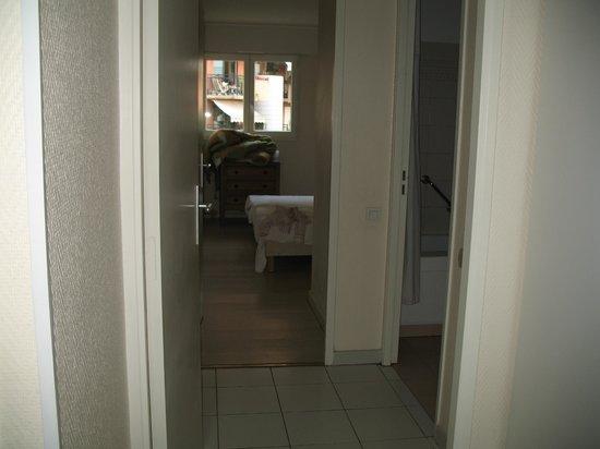ResidHotel Villa Maupassant: camera da letto