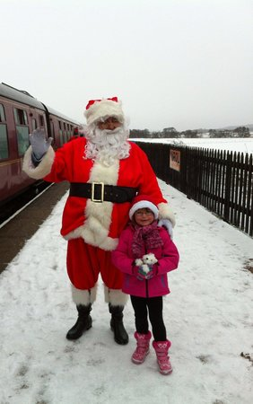 Strathspey Steam Railway: Santa at Broomhill