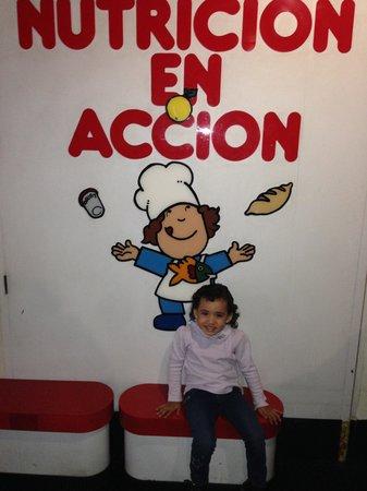 Museo de los Ninos (Children's Museum): Nutrición...