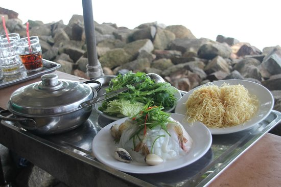 Ganh Hao: Ингридиенты супа Лао