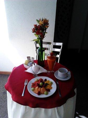 Hotel Señorial Tlaxcala: SERVICIO A LA HABITACIÓN