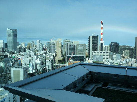 Mitsui Garden Hotel Ginza Premier: Vue