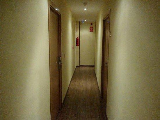 Hotel Vettonia: PASILLO de acceso a las habitaciones en la primera planta