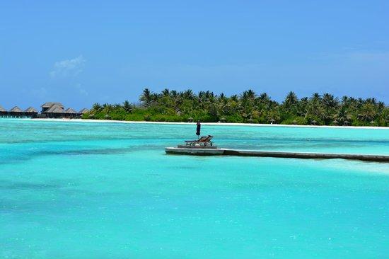 Anantara VeliMaldivesResort: Crystal clear water