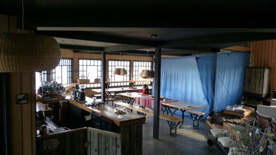 Kau Patagonia: Confitería - desayunador