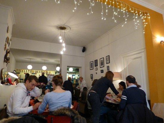 Interior of Cafe Barnini