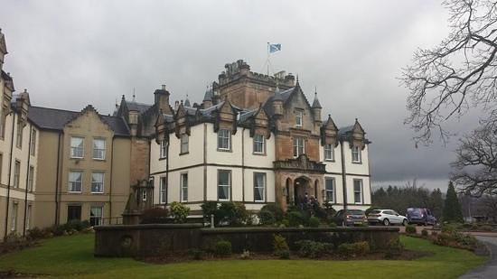 Cameron House on Loch Lomond : A grey day by Loch Lomond