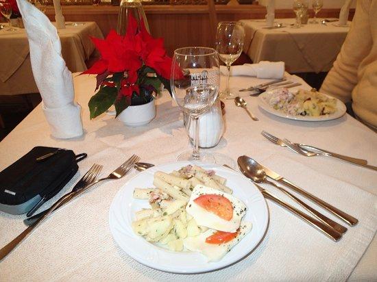 Hotel Mitterplarserhof: sala da pranzo