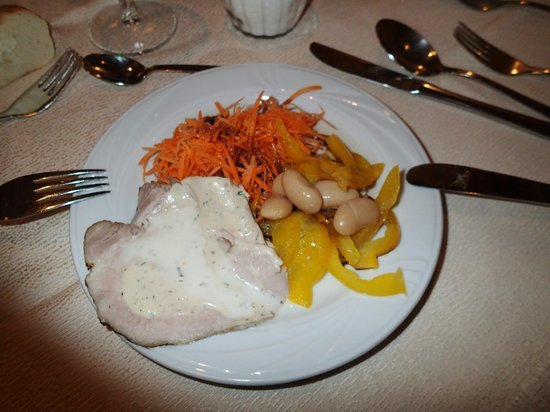 Hotel Mitterplarserhof: cibo