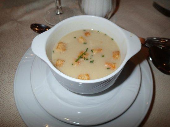 Hotel Mitterplarserhof: zuppa