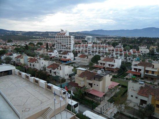 Ephesia Hotel : Het hotel ligt vrijuwel aan het strand in een rustige wijk