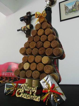 Riedel Winebar: El árbol de corchos