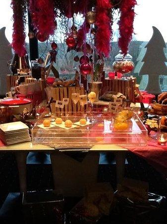 Sofitel Luxembourg Le Grand Ducal: buffet pour enfant c'est noel