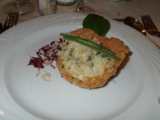 Hotel Mitterplarserhof : risotto