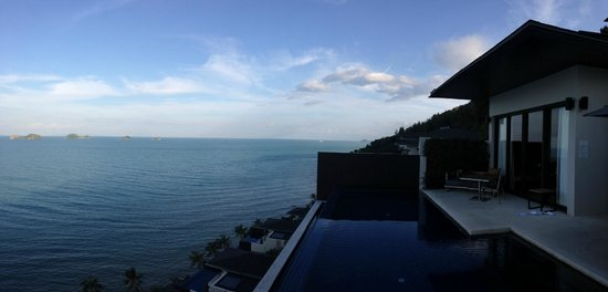 Conrad Koh Samui Resort & Spa: View from our room
