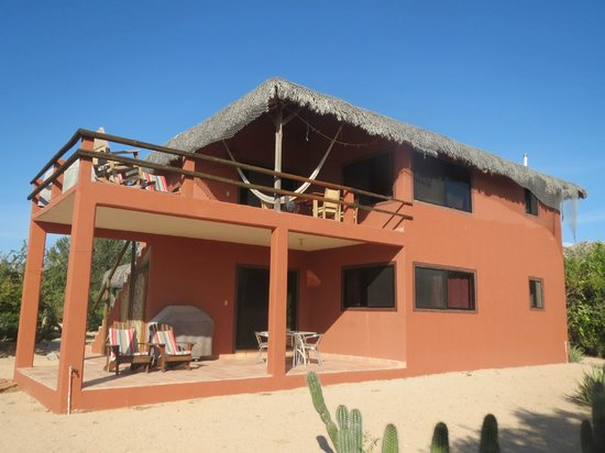 Baja Bungalows: we are upstairs
