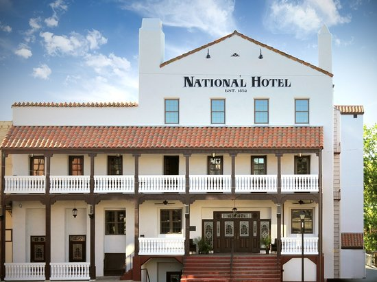 The National Hotel on a sunny day