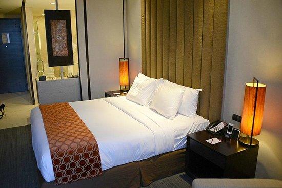 Crowne Plaza Semarang: La cama era muy cómoda