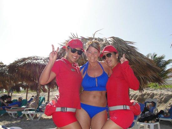 Hotel Meliá Marina Varadero: My gorgeous Cuban Sistas!!!