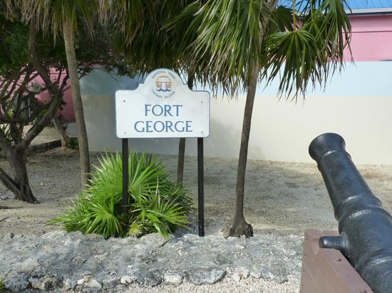 Fort George: sign