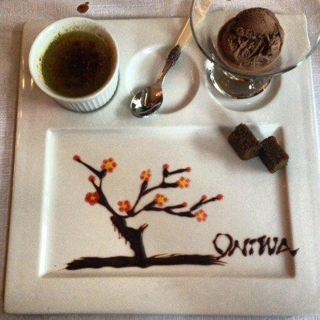 Dessert Oniwa! Magnifique!