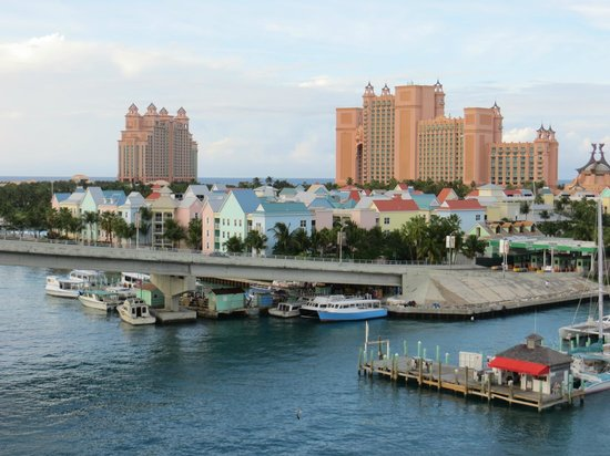 Atlantis - Harborside Resort : View from Bridge