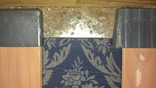 Alisios Playa: crumbs and dirt on sofa bed