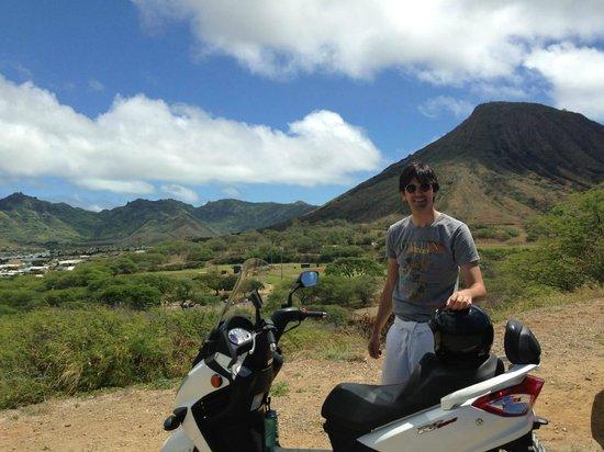 Hawaiian Style Rentals & Sales: nice wee scooter