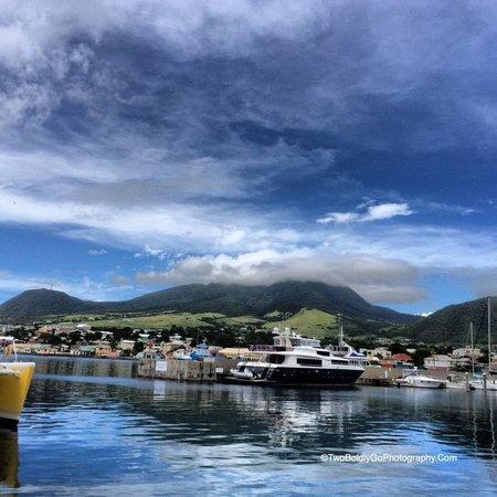 Four Seasons Resort Nevis, West Indies: Harbor in St Kitts