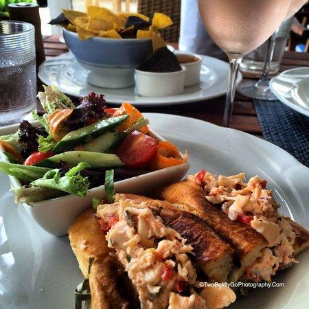 Four Seasons Resort Nevis, West Indies: Lunch Lobster Roll