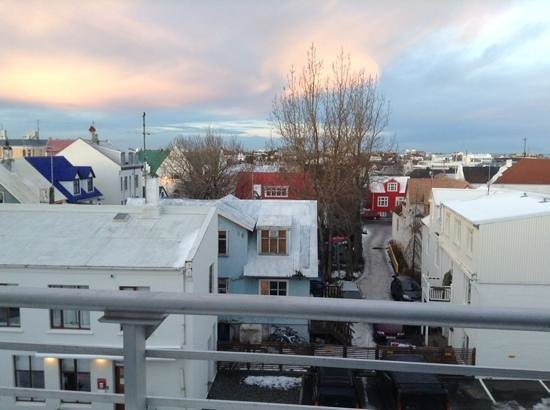Reykjavik4you Apartments Hotel: view from balcony :)