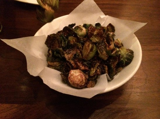 Uchiko: Awesome brussel sprouts