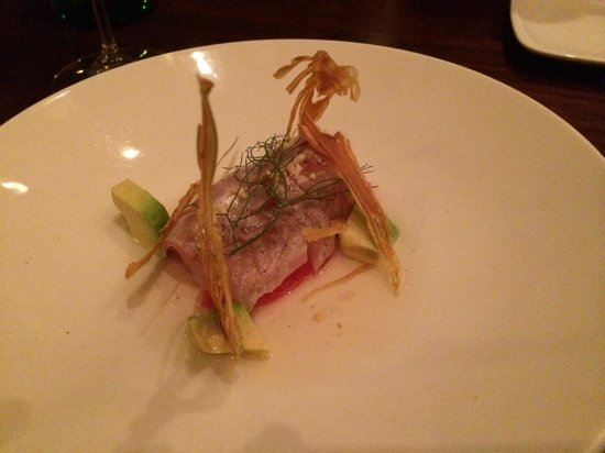Uchiko: Some other crudo- it was fine.