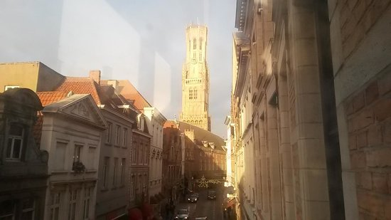 Hotel Bourgoensch Hof: View from room 29