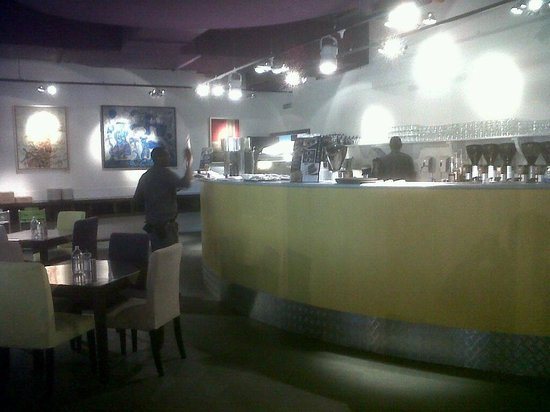 MORE Cafe: One of the bars