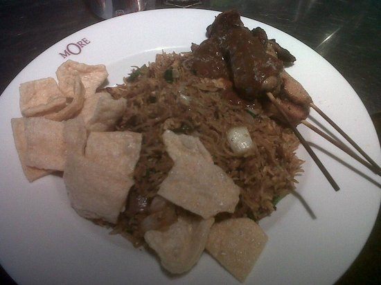 MORE Cafe: Nasi Goreng, very authentic