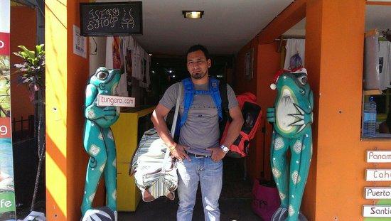 Calipso Hostel: Hope to see you soon Tungara!