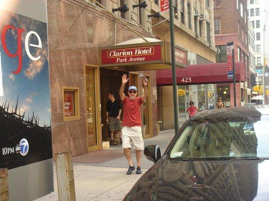Clarion Hotel Park Avenue : Entrada Hotel