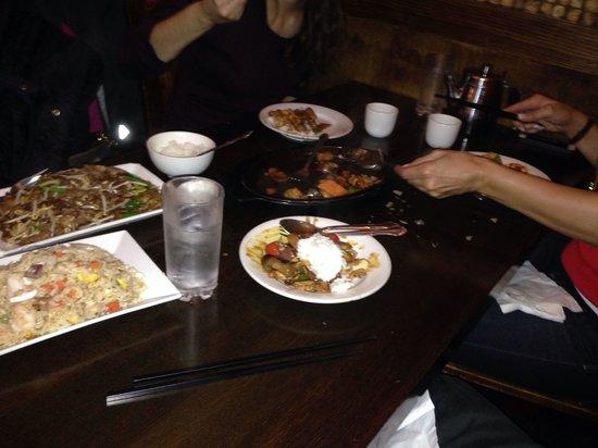 Penang Malaysian Cuisine: Comiendo en chinatown filadelfia