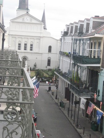 Bourbon Orleans Hotel : View from our room