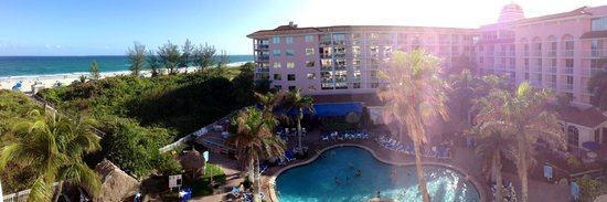 Palm Beach Shores Resort and Vacation Villas: Panaramic view from my balcony - Unit 504 and 506