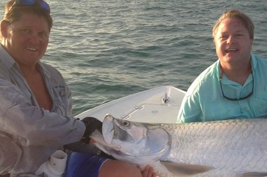 Tarpon catch picture of duck key fishing charters duck for Duck key fishing charters