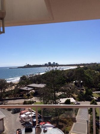 Sandcastles Mooloolaba: the view from 407