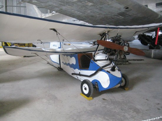 Malta Aviation Museum: MICRO AIRPLANE