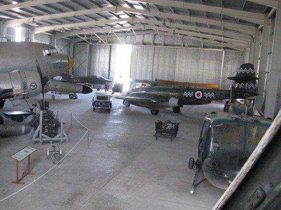 Malta Aviation Museum: ONE OF THE HANGARS