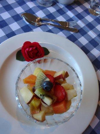 Comfrey Cottage: leckeres Frühstück