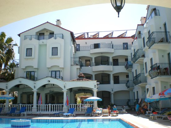 Oykun Hotel: From the pool