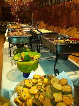 Mayan Dude Ranch: Dinner Buffet